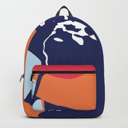 sinking in the water Backpack