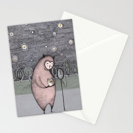 Moth-catching Stationery Cards