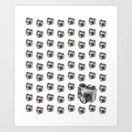 Paper Camera Art Print