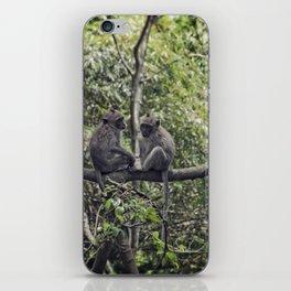 Monkey Love iPhone Skin