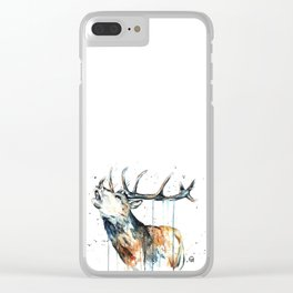 Elk - Elk Calling Clear iPhone Case