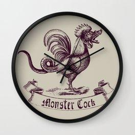 Monster Cock Wall Clock