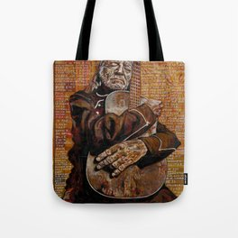 Willie's Guitar Tote Bag