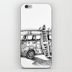 Beach  Van iPhone & iPod Skin