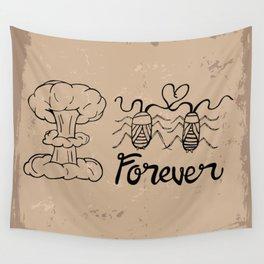 Die Hard Romantic Wall Tapestry