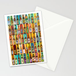 100 Bottles of Beer Poster - Perfert for College Dorms, Bar Decor, Man Cave Stationery Cards