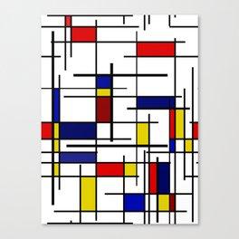 Mondrian Pattern Canvas Print