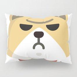 Grumpy Corgi Pillow Sham