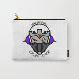 Colossus Sounds Studio Logo White Carry-All Pouch