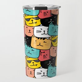 Cats Cats Everywhere Travel Mug