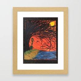 Nalani and the Last Tree Framed Art Print