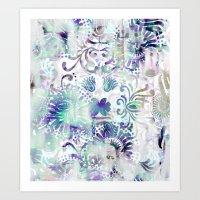 fairy tail Art Prints featuring Fairy Tail by Marta Olga Klara
