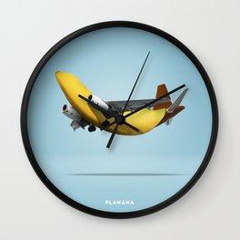 Planana B Wall Clock