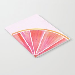 Sunny Grapefruit Watercolor Notebook