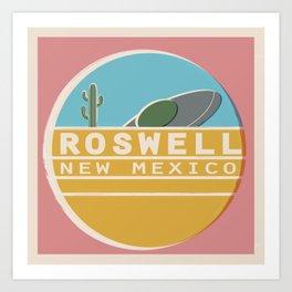 Roswell Art Print