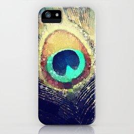 Scott Hannum - Peacock Feather iPhone Case