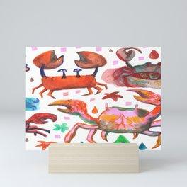 crabs Mini Art Print