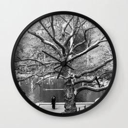 Trees #9 Wall Clock