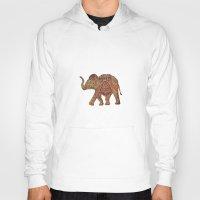 baby elephant Hoodies featuring  Elephant baby by valzart
