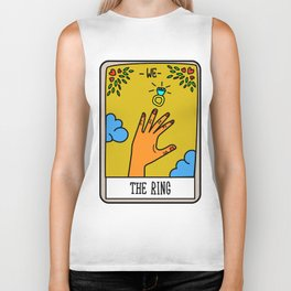 THE RING #Tarot Card Biker Tank