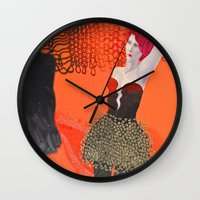 shadow Wall Clocks featuring Shadow by doviArt