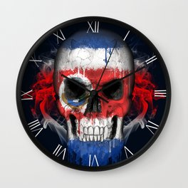 To The Core Collection: Costa Rica Wall Clock