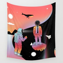 Coexistentiality 2 (A Passing View) Wall Tapestry