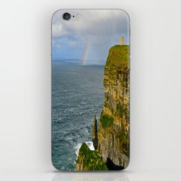 Cliffs of Moher Rainbow iPhone Skin