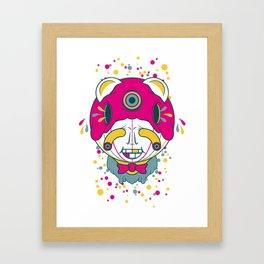 The Grinner Framed Art Print