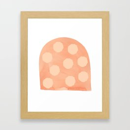 Earth Gumdrop Framed Art Print