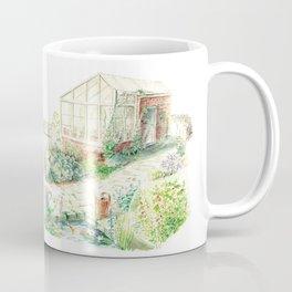 Literary Garden for Rabbits Coffee Mug