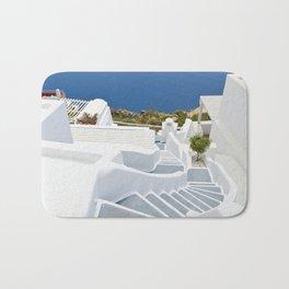 The Perfect Santorini Life Bath Mat