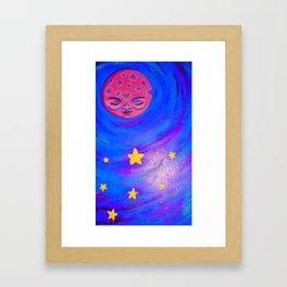Mother Moon Framed Art Print