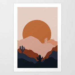 Boring Summer Art Print