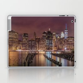 NEW YORK CITY Nightly Impressions | Panoramic Laptop & iPad Skin