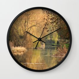 Tranquil days Wall Clock