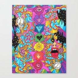 Meditation_Color Canvas Print
