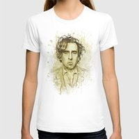 tim shumate T-shirts featuring Tim Burton by Renato Cunha