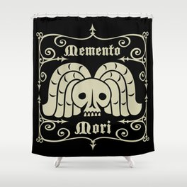 Rest In Peace-Memento Mori Shower Curtain