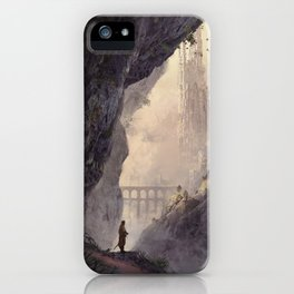 WHITE TOWERS iPhone Case