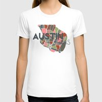austin T-shirts featuring Austin Texas + by Studio Tesouro