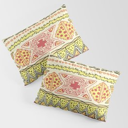 Pizza Pattern Pillow Sham