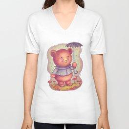 Mr. Bear Unisex V-Neck