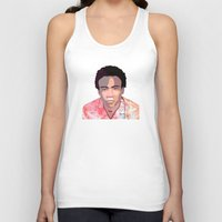 childish gambino Tank Tops featuring Childish by Grace Teaney Art