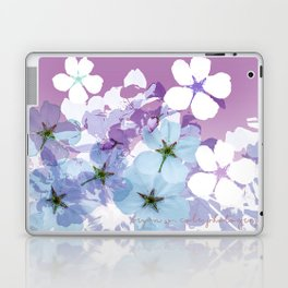 Almond Blossoms Violet 2 Laptop & iPad Skin