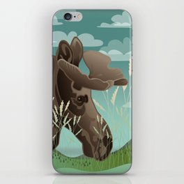 Shiras Moose iPhone Skin