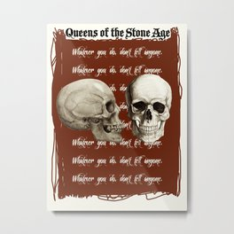 Lost Art of Keeping A Secret Metal Print