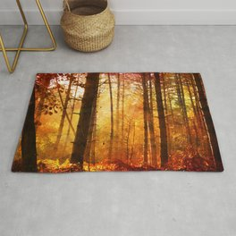 Forest Glow Rug