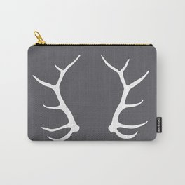 Elk Antler Carry-All Pouch
