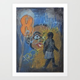 Swazi Art 13 Art Print